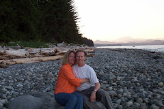 Sunset on Quadra Island, Canada