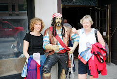 Meeting up with a pirate in Boston. . .