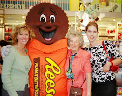 Posing with the Reese Cup Guy!