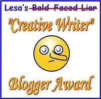 """Creative Writer"" Blogger Award"