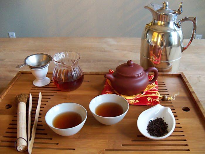 Chinese tea ceremony auspicious sayings