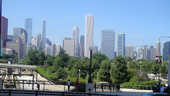 Vista da Cidade de Chicago