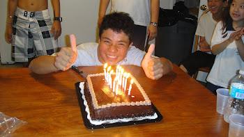 Aniversário do Atleta Kazuo Lima no dia 20 de julho 2010