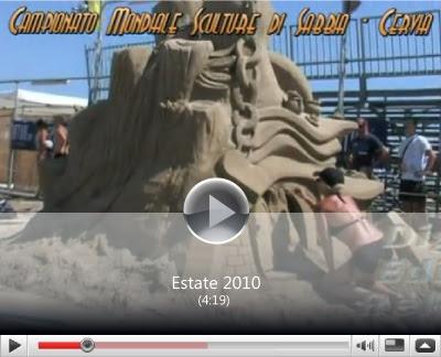 Cervia-Milano Marittima Sculture di sabbia