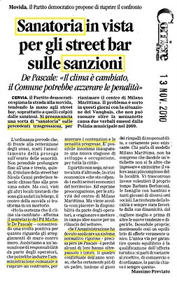 PD Cervia propone sanatoria
