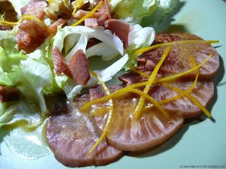 Salade de langue de bœuf