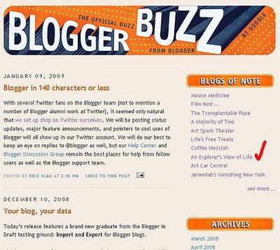 Blog Buzz