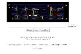 Google celebra el 30 aniversario de Pac-Man
