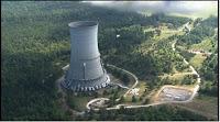 Demolición de torre de 130 metros de altura