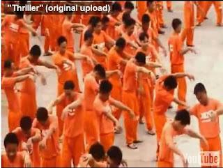 Presos bailan como Michael Jackson