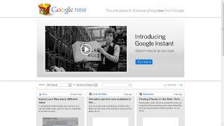 Nueva web de noticias de las aplicaciones de Google