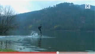Como correr sobre el agua