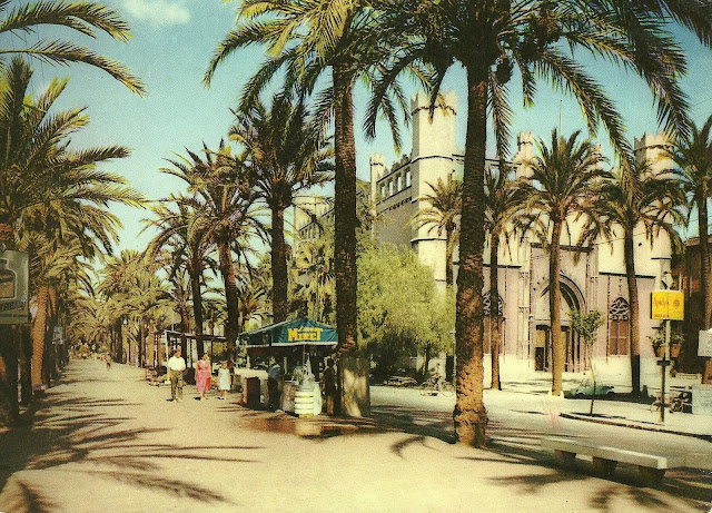 77 Elm Postcards From Palma de Mallorca, 1960s -> Vintage Möbel Palma De Mallorca