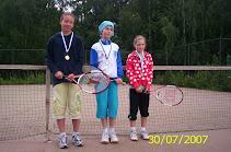 30.7.2007 pidettiin Tampereen Kaupissa alkeistason tenniskisat