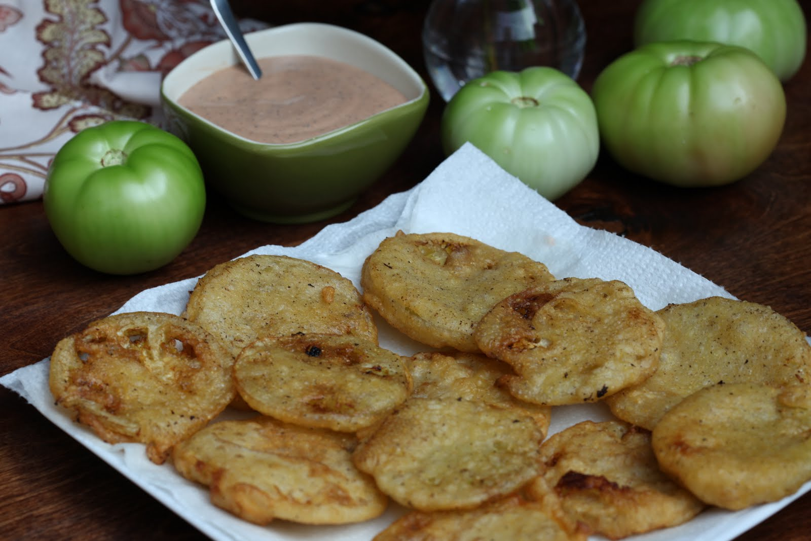 Fried Green Tomatoes with Crab, Watermelon and Arnold ...