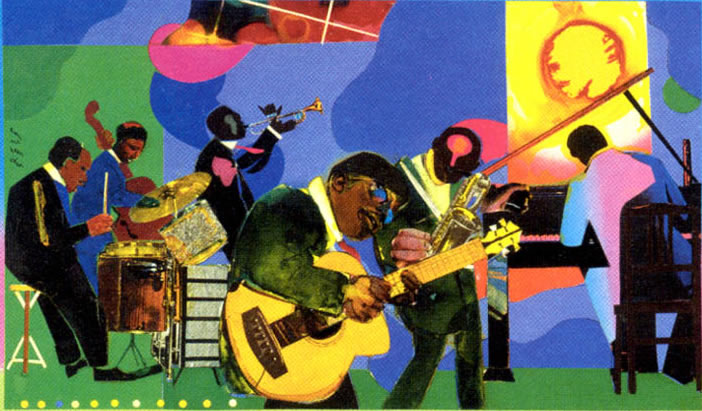 romare bearden the dove Lauren kroiz in 1972, the black artist and writer romare bearden  are  punctuated by boldly colored designs: abstracted doves, a rainbow with.