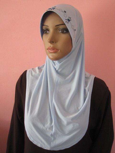 Pemborong Jubah Baju Siap Tudung Online Tudung Sulam