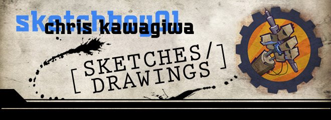 Chris Kawagiwa | sketchboy01