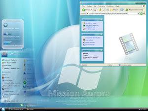 Mission Aurora VS by NLM Studios Download   Mission Aurora Tema para Windows