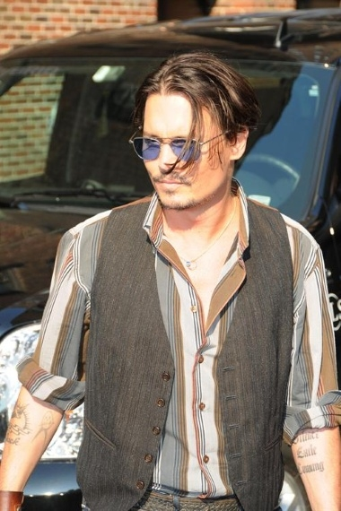 exile tattoo. Depp has a Joycean tattoo!