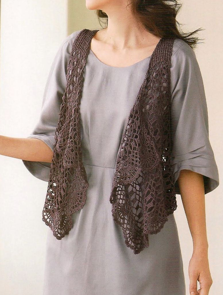 Free Vest Crochet Patterns from our Free Crochet Patterns