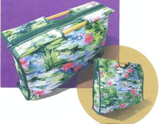 Элегантная сумка для рукоделия