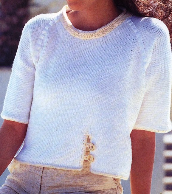 Free Raglan Sweater Knitting Pattern : RAGLAN SWEATER KNITTING PATTERN - FREE PATTERNS