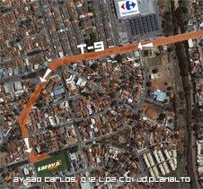 Mapa Saravá Café