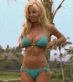 Camille Grammer bikini