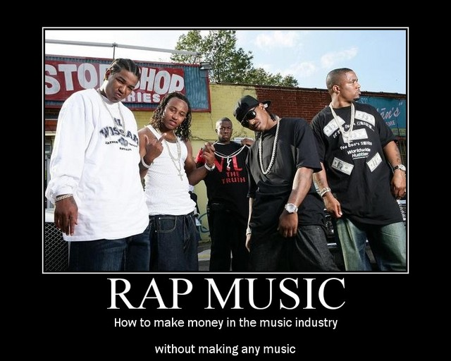 rap music sucks