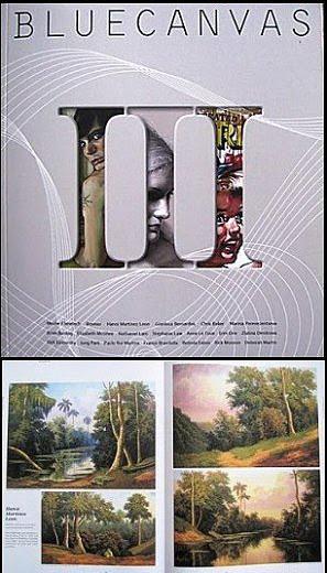 """Obra publicada en la III edición de la Revista norteamericana de Arte """"Bluecanvas"""""""