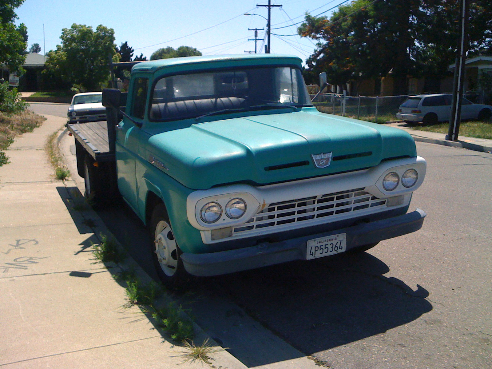 THE STREET PEEP 1960 Ford F350 Flatbed
