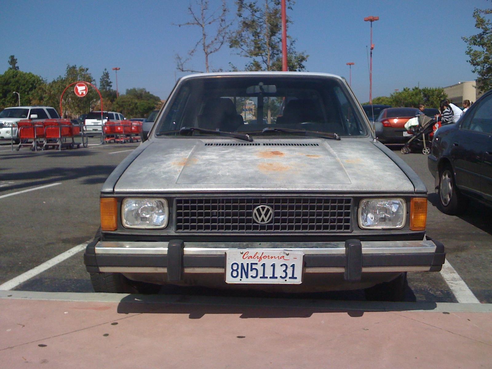 1981 Volkswagen Caddy Diesel