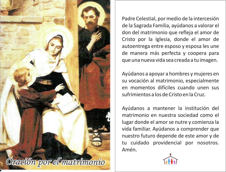 Mensajes Para Matrimonio Catolico : Tarjetas y oraciones catolicas oraciÓn por los matrimonios