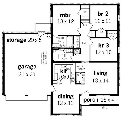 Small Style House Floor Plans with Small Home Plan Design Blueprints