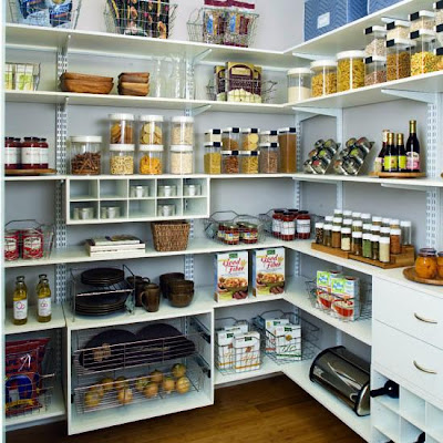 Shelving designs shelving design ideas pantry shelving - Kitchen shelves ideas ...