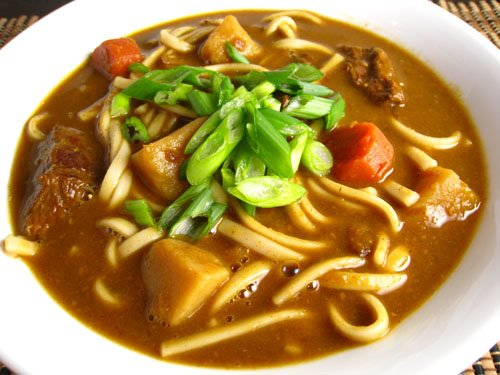 ... curry in japan is kare udon or curry udon soup curry udon soup is