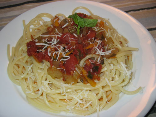 Spaghetti alla Marinara