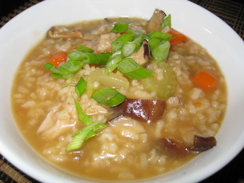 Turkey Congee (Rice Porridge)