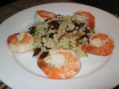 Shrimp and Couscous Salad