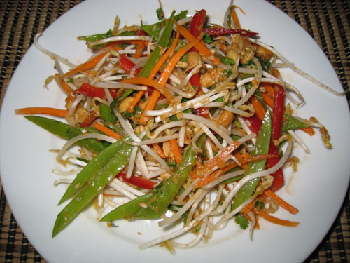 Crunchy Asian Salad on Closet Cooking