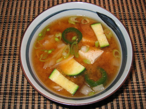 Dengjang Chigae (Korean Miso Soup)