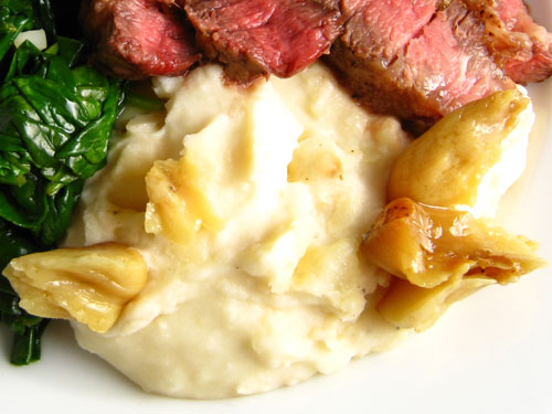 Creamy Roasted Garlic Mashed Potatoes