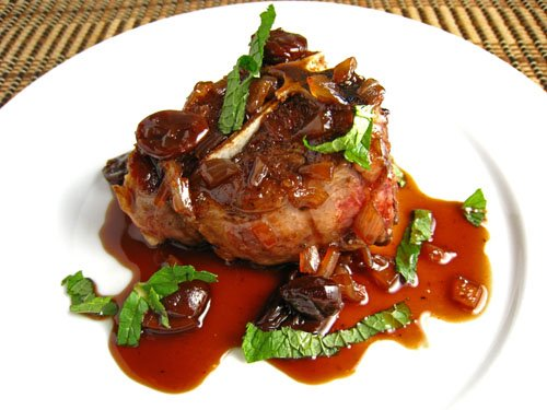 Lamb Chop Dog Lamb Chops in Cherry And Port