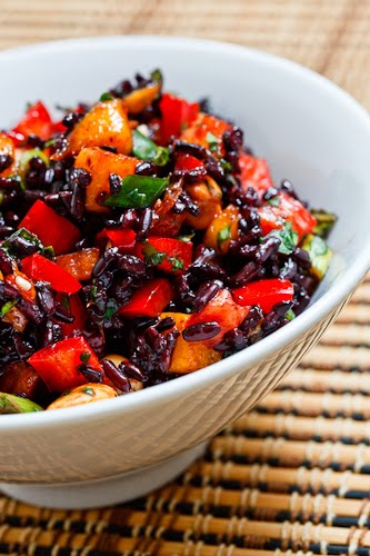 Thai Black Rice Salad on Closet Cooking
