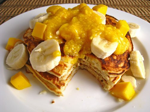 Mango Pancakes