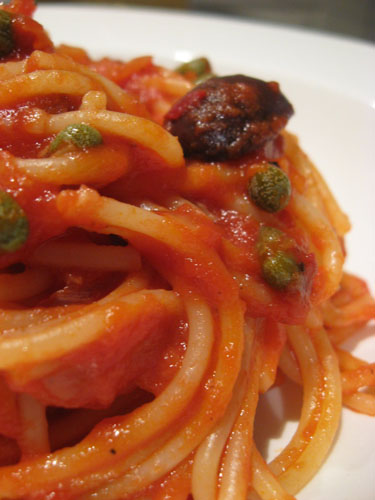 Spaghetti alla Puttanesca