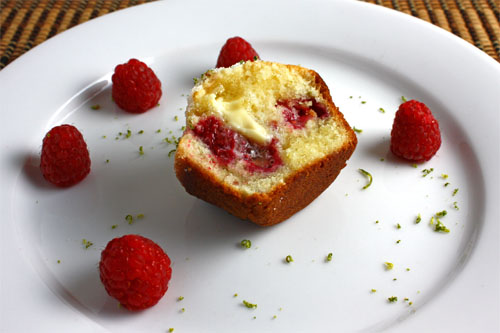 Raspberry and Lime Muffins on Closet Cooking