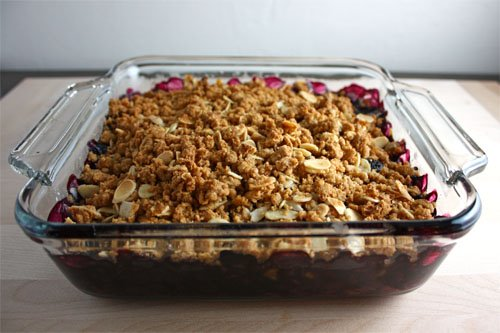 Blueberry Amaretti Crisp on Closet Cooking