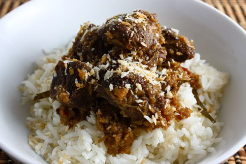 Beef Rendang on Closet Cooking